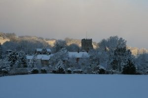Yarcombe in the snow